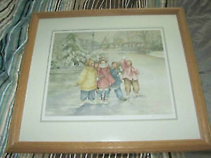 Catherine Simpson-custom-framed numbered print-Best Friends