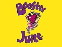Booster Juice Chilliwack is hiring part-time!