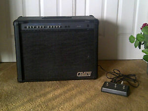 Crate Guitar Amp GX 212 & foot pedal