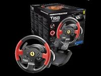 @@LOOK@@ THRUSTMASTER T150 FERRARI FORCE FEEDBACK FOR PLAYSTATION 4 ALSO WORKS ON PS4, PS3, PC