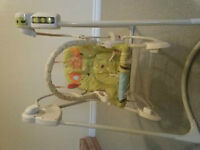 Fisher Price Baby Swing - 3 stages