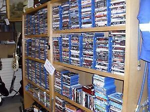 WIDE RANGE OF DVDS AND BLU-RAYS