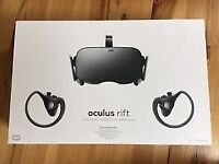 Oculus Rift /w Touch Controllers & Room Scale Sensors