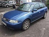 2002 Audi A3 1.6 Sport........£1150......