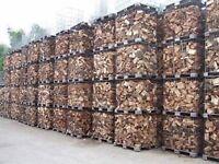 Seasoned and kiln dried hardwood Ash Oak Beech Birch etc