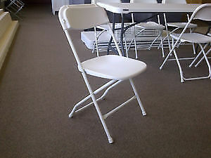 LARGE QUANTITY COSCO MOLDED RESIN FOLDING CHAIRS - NEW & USED Stratford Kitchener Area image 7