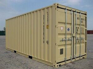 Storage Containers 20'- 40'