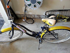 Brand New Condition Yellow Fixed Gear Bike