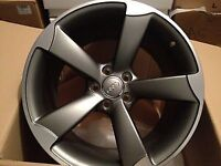 1 Genuine Audi Rotor Alloy 19 inch NEW ONO