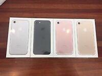Iphone 7 256gb Matte Black brandnew sealed pack