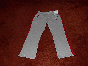2006 Canadian Olympic Womens Grey Warm-Up Slacks Size 10 or XL