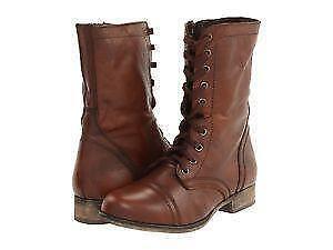 Womens Steve Madden Combat Boots f47cf28401