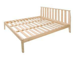 how to build a king size bed frame from wood