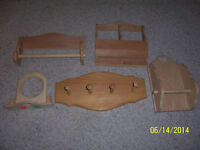 NEW Wood Items To Paint, Decorate or Stain