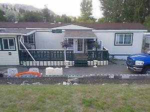 Large Lake View Mobile home on corner lot