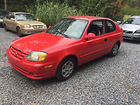 2003 Hyundai Accent GS Coupé (2 portes) 800$$$$