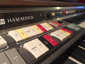 Hammond Organ and Bench