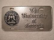 UGA License Plate