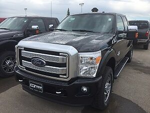 2016 Ford F350 Platinum Pickup Truck FIRE POLICE GOVT DISCOUNT