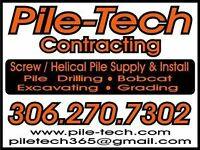Screw Pile Services/Excavation/Piles