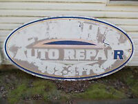 Oval Business Sign