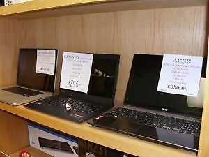 WIDE VARIETY OF LAPTOPS