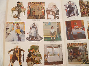 1978 Norman Rockwell Hard Cover Collectors Book
