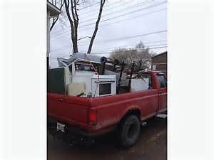 OUT OF WORK DAD DOING FREE SCRAP METAL PICKUP CALL NOW