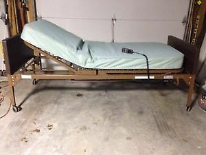 Hospital bed and hoyer lift with sling 700 dollars FIRM