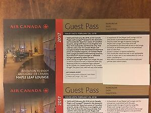 5 x Maple Leaf Lounge Guest Pass