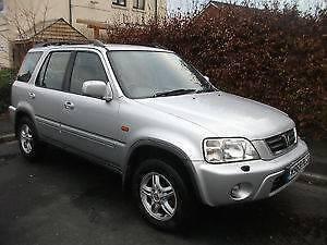 2001 Honda CRV Sports 4x4  Auto 3M REGO+3YR WARRANTY+1YR RSA Campbelltown Campbelltown Area Preview