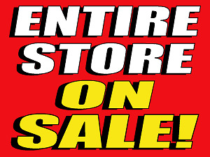 HUGE LIQUIDATION SALE! ENTIRE STORE SALE !! LAPTOP FROM $95.00