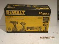 Dewalt 4 piece + batteries