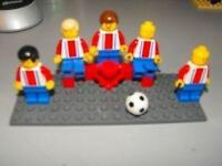 LEGO SOCCER TEAM MINFIGS LOT