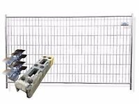 Heras Fence Panels x 5 and Feet x 5
