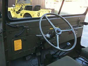 1968 M38A1 Army Jeep
