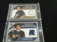 Crosby & Ovechkin 2005 rookie year cards