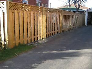 POST HOLE DIGGER SERVICES & FENCE ,SHED , DECK BUILDERS St. John's Newfoundland image 5