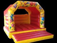 HIRE SMALL MEDIUM LARGE PRINCESS BOUNCY CASTLES IN WIMBLEDON WANDSOWORTH BALHAM TOOTING BRIXTON