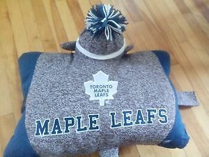 NHL Toronto Maple Leafs Sock Monkey Pillow