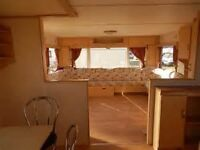cheap static caravan for PRIVATE SALE north east coast 12 months season superb location