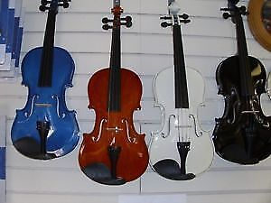 BRAND NEW VIOLINS WITH CASE AND BOW