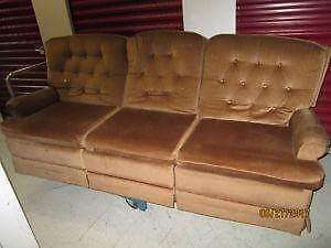 Vintage recliner/antique fauteuil inclinable