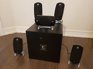 Z-5300 surround speakers for computer or other components