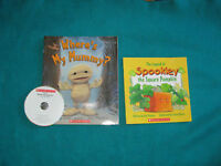 Where's my Mummy? with Cd and Spookley the Square Pumpkin