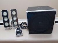 Logitech Z4 computer speakers