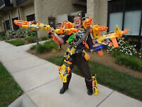 NERF Assault - Nerf Wars for 10 yrs to Adult - NEW