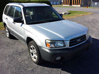 2005 Subaru Forester all wheel drive Fully loaded,Very Clean !