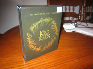LORD OF THE RINGS Trilogy On BLU RAY Box Set For Sale