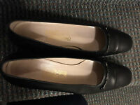 SALVATORE FERRAGAMO SHOES CHAUSSURES 9 SIZE LEATHER CUIR9